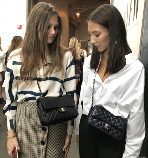 Chic spotted - Preppy blouses