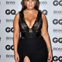 Ashley Graham in black